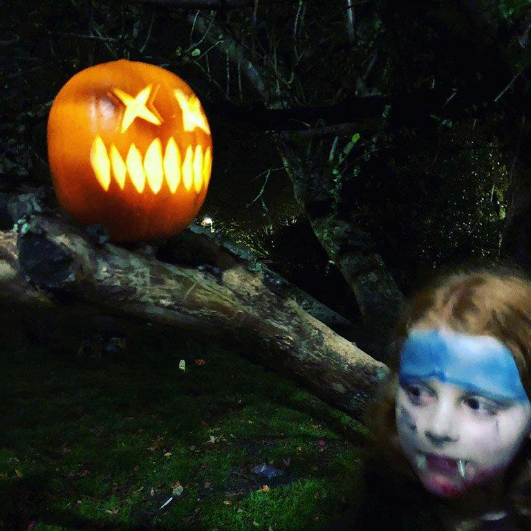 Halloween fun at Joy's Garden